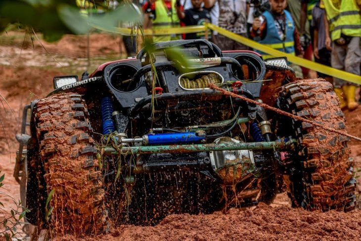 RFC 2019 Malaysia Deep water holes and steep slopes challenge the monsters